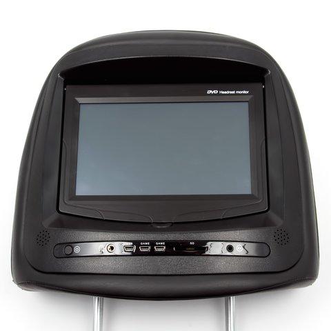 """Подголовник с 7"""" сенсорным TFT ЖК монитором и DVD плеером"""