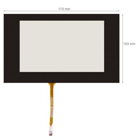 """Гибкое сенсорное стекло 6.5"""" для Audi A3"""