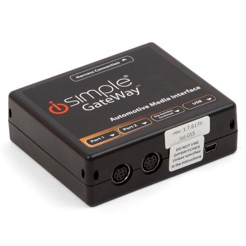 Adaptador de iPhone iPod y dispositivos AUX para Nissan e Infiniti