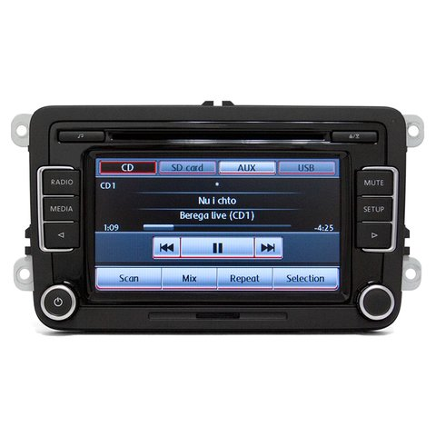 Autorradio Volkswagen RCD510 Delphi  56D 035 190A