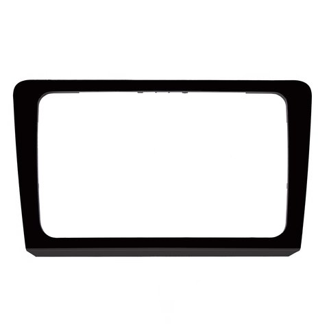 Radio Trim Plate for VW Bora 2013 14 MY for RCD510, RNS510, RCD310, RNS310, RNS315 black