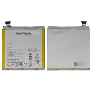 Battery compatible with Asus ZenPad 8.0 Z380C Wi-Fi, (Li-Polymer, 3.8 V, 3950 mAh) #C11P1505