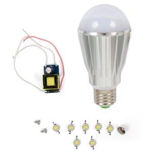 LED Light Bulb DIY Kit SQ-Q17 7 W (cold white, E27)