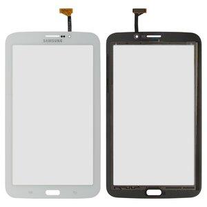 Cristal táctil para tablet PC Samsung P3200 Galaxy Tab3, P3210 Galaxy Tab 3, T210, T2100 Galaxy Tab 3, T2110 Galaxy Tab 3, blanco, (versión 3G)