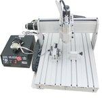 Máquina fresadora CNC de sobremesa de 4 ejes ChinaCNCzone 6040 (800 W)