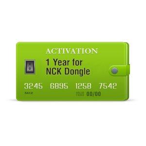 Годовая активация для NCK Dongle / NCK Box