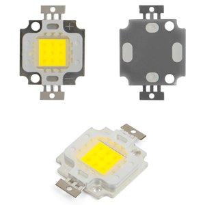 COB LED модуль 10 Вт (холодный белый, 800 лм, 900 мА, 9-11 В)