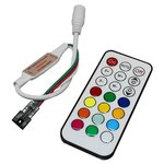 Контроллер с РЧ пультом TH2015-X-RF (RGB, WS2811, WS2812, 5 В)