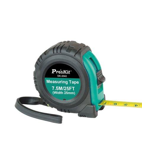 Рулетка измерительная Pro'sKit DK-2042 с магнитным наконечником (7,5 м)