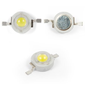LED 1 W (natural white, 4000-4500 K, 130 lm, 3.2-3.4 V)